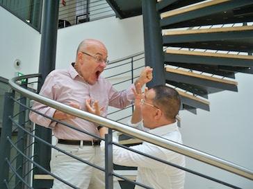Gerhard Stäbler und Kunsu Shim